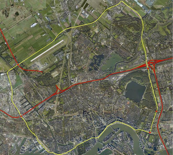rondje Rotterdam, plaatje
