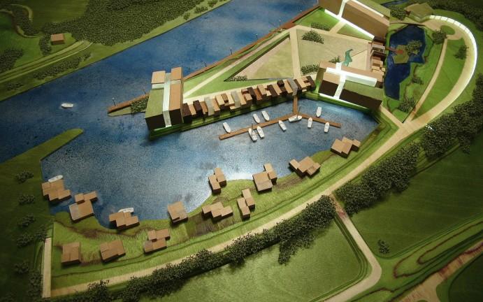 maquette RiverStone